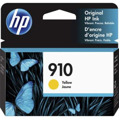 HP 910 Yellow Original Ink Cartridge (3YL60AN)
