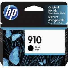 HP 910 Black Original Ink Cartridge (3YL61AN)