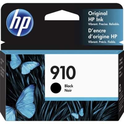 HP 910 Black Original Ink Cartridge (3YL61AN)