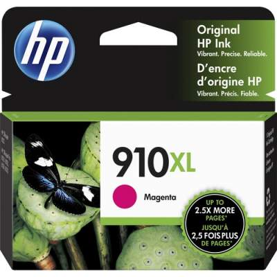 HP 910XL High Yield Magenta Original Ink Cartridge (3YL63AN)