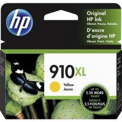 HP 910XL High Yield Yellow Original Ink Cartridge (3YL64AN)