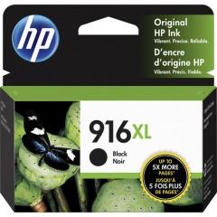 HP 916XL High Yield Black Original Ink Cartridge (3YL66AN)