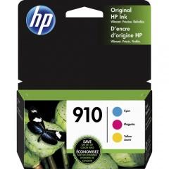 HP 910 3-pack Cyan/Magenta/Yellow Original Ink Cartridges (3YN97AN)