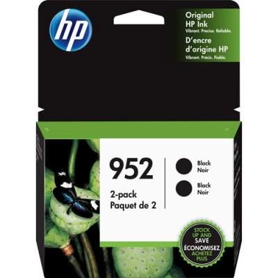 HP 952 2-pack Black Original Ink Cartridges (3YP21AN)
