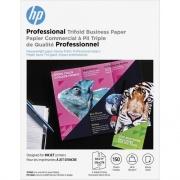 HP Professional Multi-use Glossy Tri-fold FSC Paper 180 gsm-150 sht/8.5 x 11 in (4WN12A)