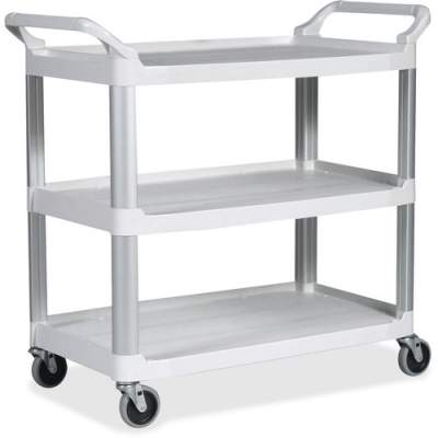 Rubbermaid Commercial Open Sided Utility Cart (409100OWH)