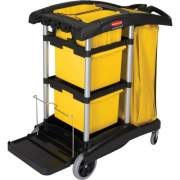 Rubbermaid Commercial High Capacity Janitorial Cart (9T73)