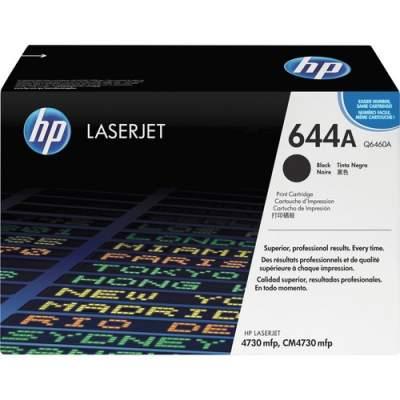 HP 644A Black Original LaserJet Toner Cartridge (Q6460A)