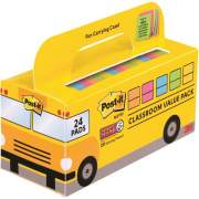 3M Post-it Notes Super Sticky Classroom Value Pack (65424SSBUS)