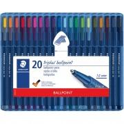 Staedtler Triplus 1.0mm Ballpoint Pens (437SB20G)