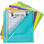 C-Line Bright Pocket Vertical Tab Index Dividers (07150)