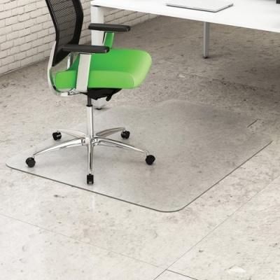 Deflecto Earth Source 45x53 Hard Floor Mat with Lip (CM2E232PB)