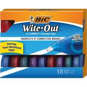 BIC Wite-Out EZCorrect Correction Tape (WOTAP18)