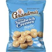 Quaker Grandma's Vanilla Mini Cookie Cremes (45096)