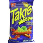 Barcel Takis Fuego Rolled Tortilla Chips (00276)