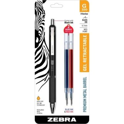 Zebra Pen 0.7mm Retractable Gel Pen (40111)