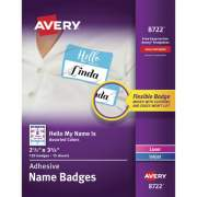 Avery Hello My Name Is Self-adhesive Name Tags (08722)