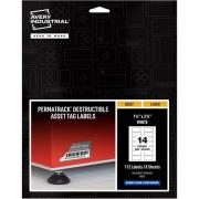 Avery PermaTrack Destructible Asset Tag Labels (60537)