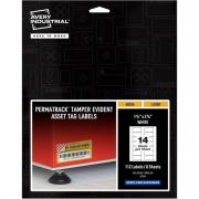 Avery PermaTrack Tamper-Evident Asset Tag Labels (60536)