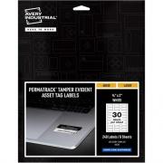 Avery PermaTrack Tamper-Evident Asset Tag Labels (60530)