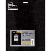 "Avery PermaTrack(TM) Metallic Asset Tag Labels, 1-1/4"" x 2-3/4"", 112 Asset Tags (61528)"
