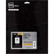 "Avery PermaTrack(TM) Durable White Asset Tag Labels, 3/4"" x 2"", 240 Asset Tags (61526)"