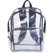 Tatco Carrying Case (Backpack) Notebook - Clear, Black (63225)