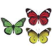 Carson-Dellosa Publishing Carson-Dellosa Woodland Whimsy Butterflies Cut-Outs Set (120563)