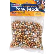 Pacon Metallic Pony Beads (3549)
