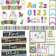 Trend Color Harmony Decorative Bulletin Board Set (90905)