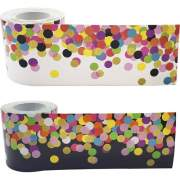 Teacher Created Resources Colorful Confetti Border Trim (32302)