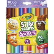 Crayola Silly Scents Sweet Dual-Ended Markers (588339)