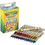Crayola Metallic Crayons (528815)