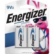 Energizer Ultimate Lithium 9V Battery (L522BP2CT)