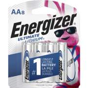 Energizer Ultimate Lithium AA Batteries (L91SBP8CT)