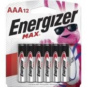 Energizer MAX AAA Batteries (E92BP12CT)