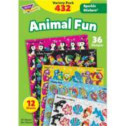 Trend Animal Fun Stickers Variety Pack (63902)