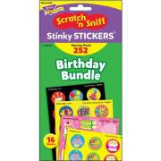 TREND Birthday Scratch 'n Sniff Stinky Stickers (T83918)