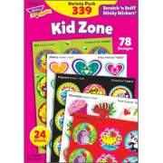 TREND Kid Zone Scratch 'n Sniff Stinky Stickers (83921)