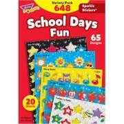 TREND Sparkle Stickers School Days Fun Stickers (63909)