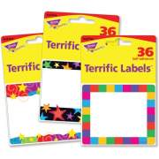 Trend Terrific Labels Colorful Assorted Name Tags (68905)