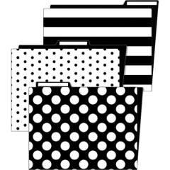 Schoolgirl Style Simply Stylish Classroom File Folders (136087)