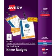 Avery Vertical Name Badges & Tickets (8521)