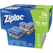 S. C. Johnson & Son Ziploc Brand Food Storage Container Set (650872CT)