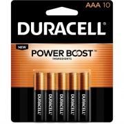 Duracell CopperTop Alkaline AAA Batteries (MN2400B10ZCT)