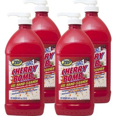 Zep Commercial Cherry Bomb Gel Hand Cleaner (ZUCBHC484CT)