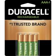 Duracell AAA Rechargeable Batteries (NLAAA4BCDCT)