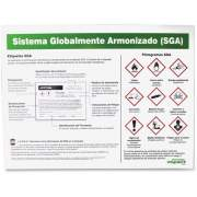 Impact GHS Label Guideline Spanish Poster (799078CT)