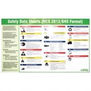 Impact GHS Safety Data Sheet English Poster (799072CT)