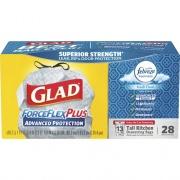Clorox Glad ForceFlex Plus 13-gall Kitchen Bags (79018)